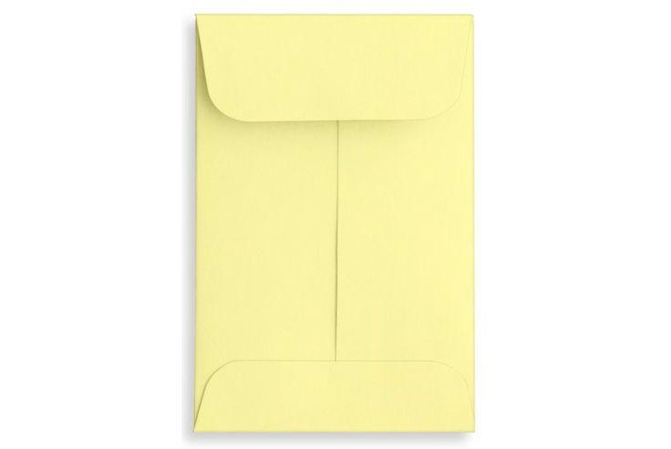 Lemonade Yellow 1 Coin Envelopes Open End 2 1 4 X 3 1 2 Envelopes Com Coin Envelopes Envelopes Com Stamp Collecting