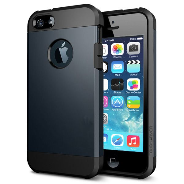 Armor Case Μαύρο OEM (iPhone 5/5s) BULK - myThiki.gr - Θήκες Κινητών-Αξεσουάρ για Smartphones και Tablets - Χρώμα μαύρο
