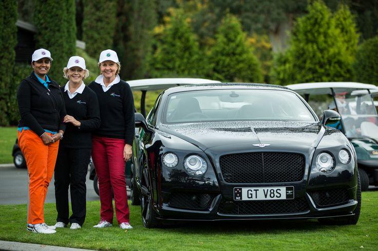 Tournament sponsors, Dolly Dawson, Colleen Thurston and Lady Jenni Giltrap, Wairakei Golf + Sanctuary.  Photographer - Martyn Davies.