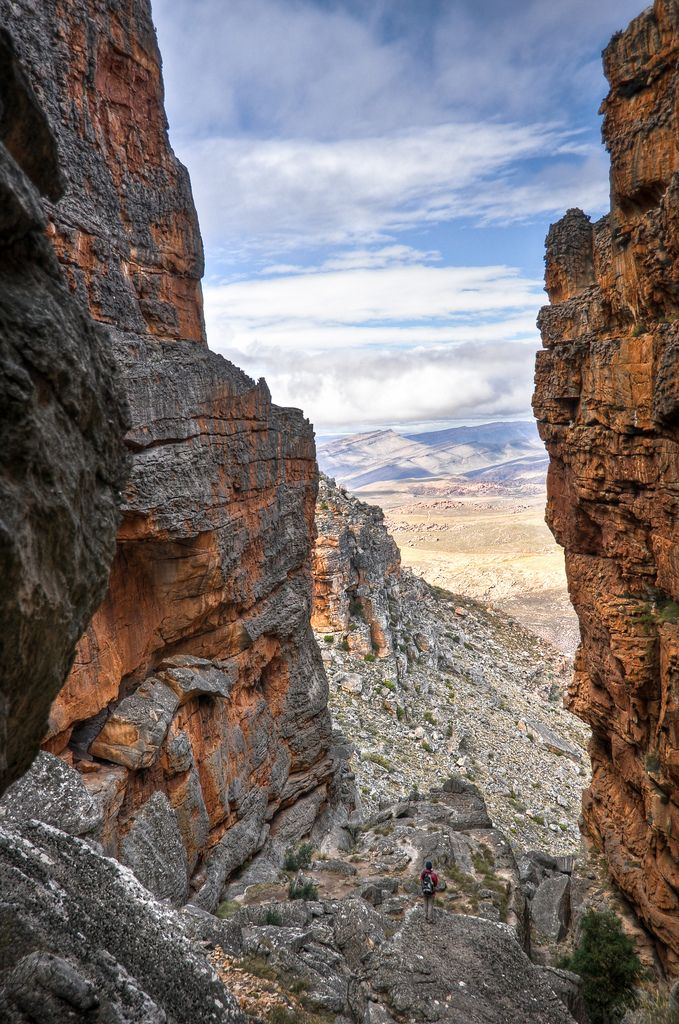 Wolfberg Cracks, Cederberg Wilderness, Western Cape - South Africa. #cederberg wolfberg