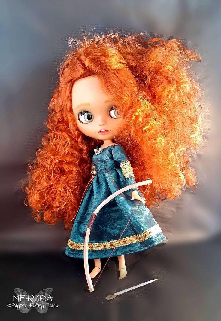 Merida OOAK Blythe Custom Doll by Blythe Fairy Tales | eBay
