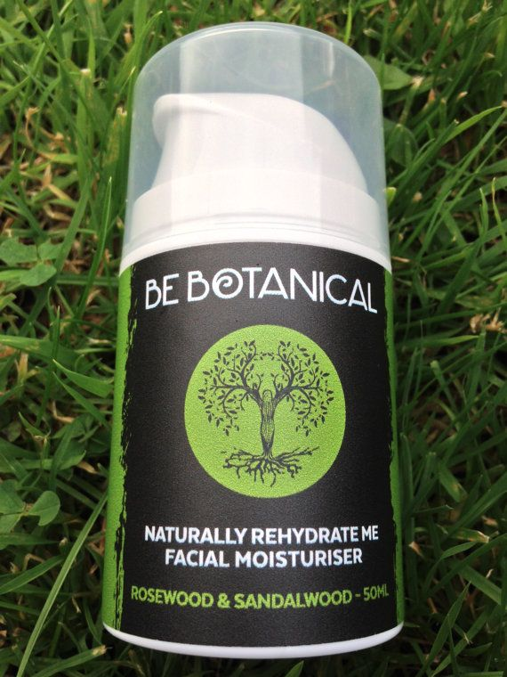 Rosewood & Sandalwood Be Botanical Naturally Rehydrate Me