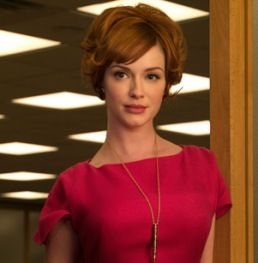 """""""You want to be taken seriously? Stop dressing like a little girl."""" - Joan Holloway"""
