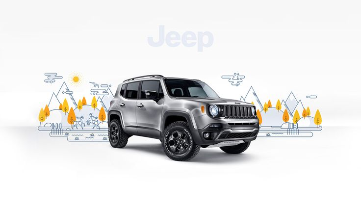 Novo Jeep Renegade on Behance