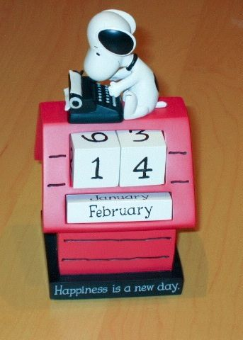 Perpetual Calendars Wood | Snoopy Perpetual Calendar by Hallmark | Flickr - Photo Sharing!