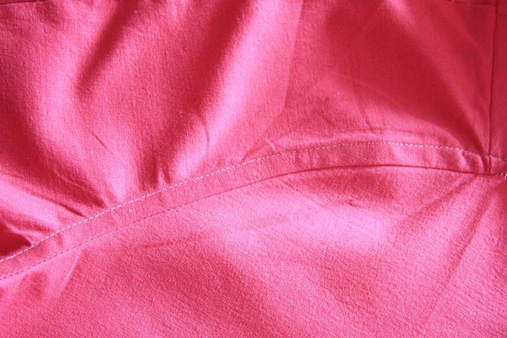 Как обработать запошивочные швы в мужской рубашке