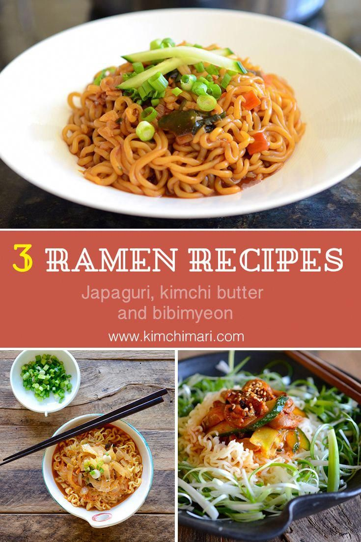 easy korean ramen noodle recipes japaghetti and neoguri kimchi butter ramen and bibimmyeon ramen i ramen recipes ramen recipes easy ramen noodle recipes easy korean ramen noodle recipes