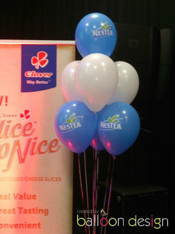 Balloon Bouquets for Clover Nestea