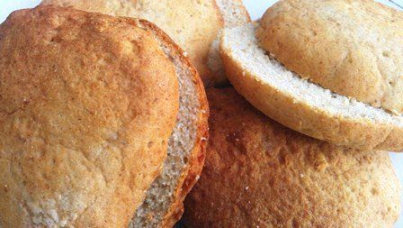 Gluten Free Hamburger Buns - New Grains (egg, dairy free too) (2 packages, 4 buns each) *** Find out more about the great product at the image link.
