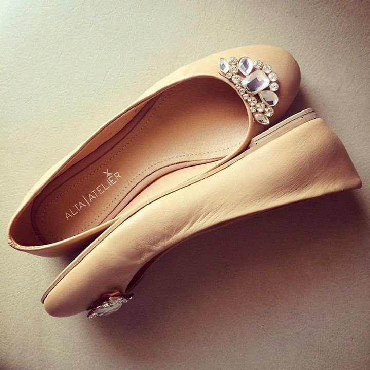 Chelsea Nude www.kichink.com/stores/altaatelier-store #flats #leather #shoes #ballerina