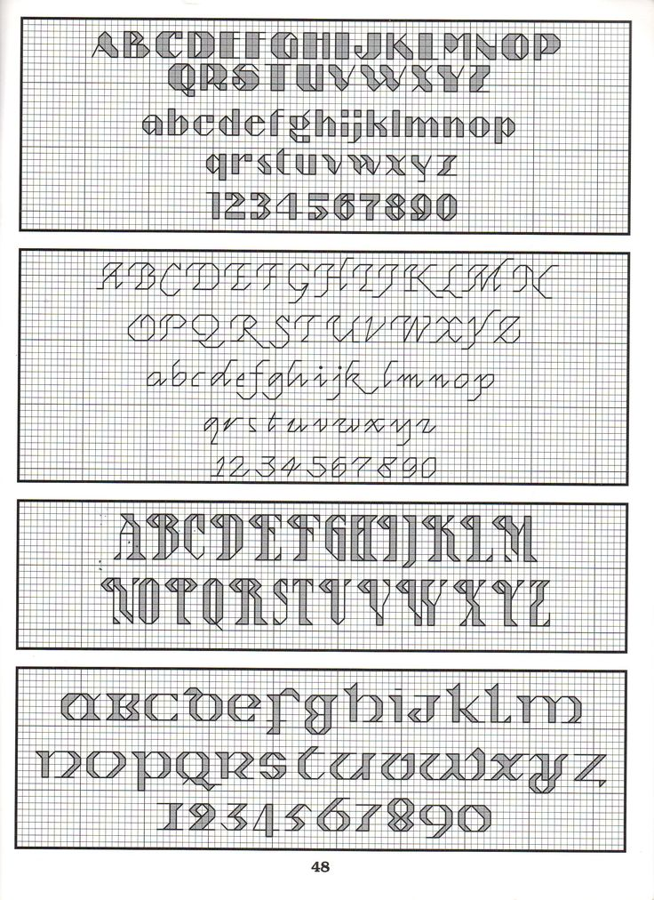 ALPHABET PATTERNS