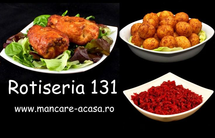 Cordon bleu,bulete cu telemea si salata de sfecla rosie. www.mancare-acasa.ro