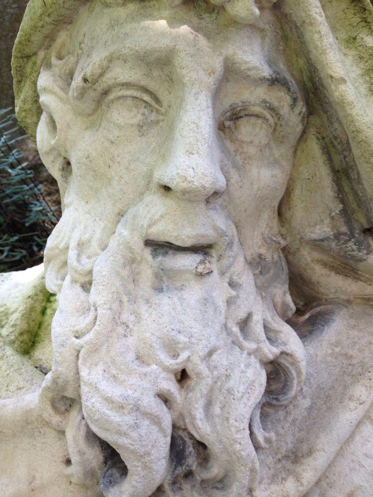Biltmore House Garden Statue