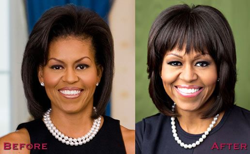 Michelle Obama plastic surgery before and after Pictures are displayed here for all of those who claims that she might…