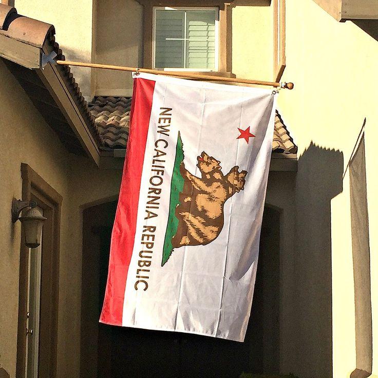 New California Republic Flag by OMGCoolStuff on Etsy https://www.etsy.com/listing/256986976/new-california-republic-flag