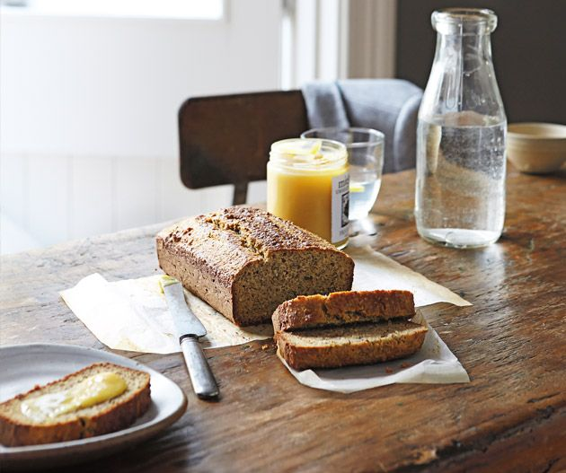 Paleo Bread from Belle Gibson's The Whole Pantry. Photograph © Brent Parker Jones.