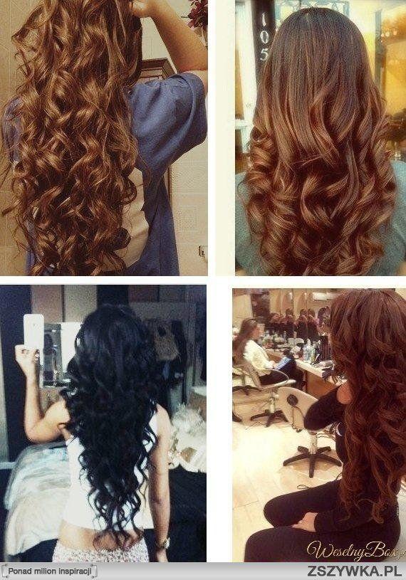 długie kręcone włosy - Szukaj w Google