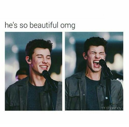 He's the reason behind my smile @camshwn