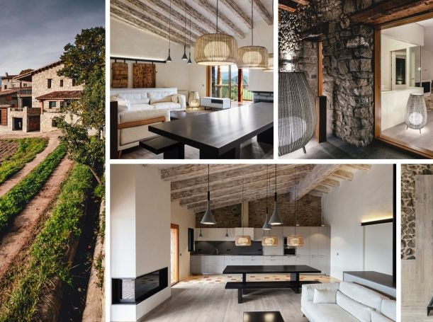 Španělská vesnice La Cerdanya rozhodně není místo, kde byste očekávali, že najdete luxusně zrenovované venkovské sídlo. Skládá se totiž přibližně z asi dvaceti obydlí a mezi občany zde převládajífarmáři a zemědělci. Přesto zde španělští Dom Arquitectura zrekonstruovali venkovské sídlo v komfortní bydlení spojené s dechberoucími výhledy na pohoří Cadi. Venkovský dům, komfort a krásná příroda. Co víc si přát!