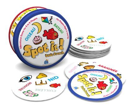 Amazon.com : Spot it! Basic French : Card Games : Toys & Games