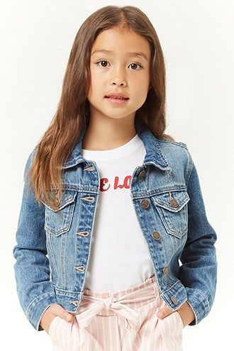 Girls Denim Jacket Kids Products In 2018 Pinterest Girls