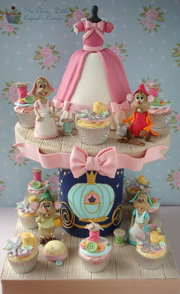 207 Best Images About Disney S Cinderella Cakes On
