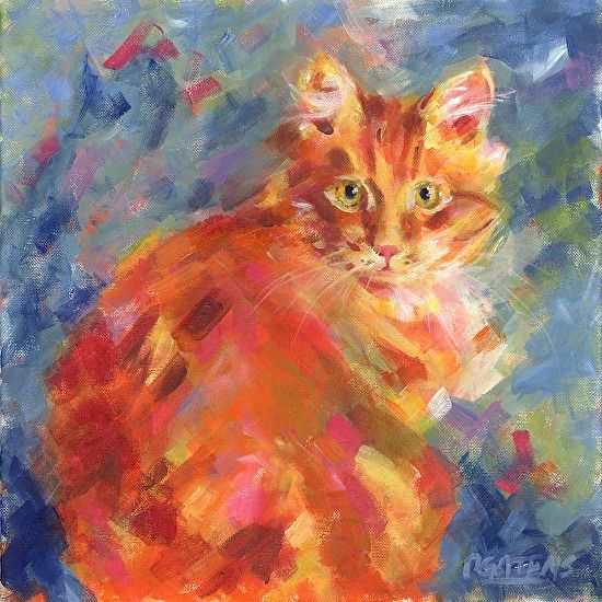 Orange Marmalade by Pamela Gatens Acrylic ~ 14 x 14