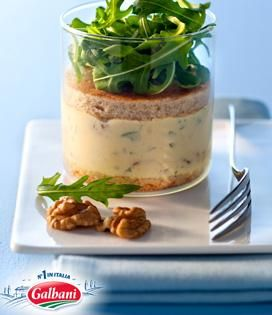 Tiramisu au gorgonzola et noix