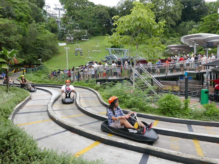 Carting on Sentosa Island