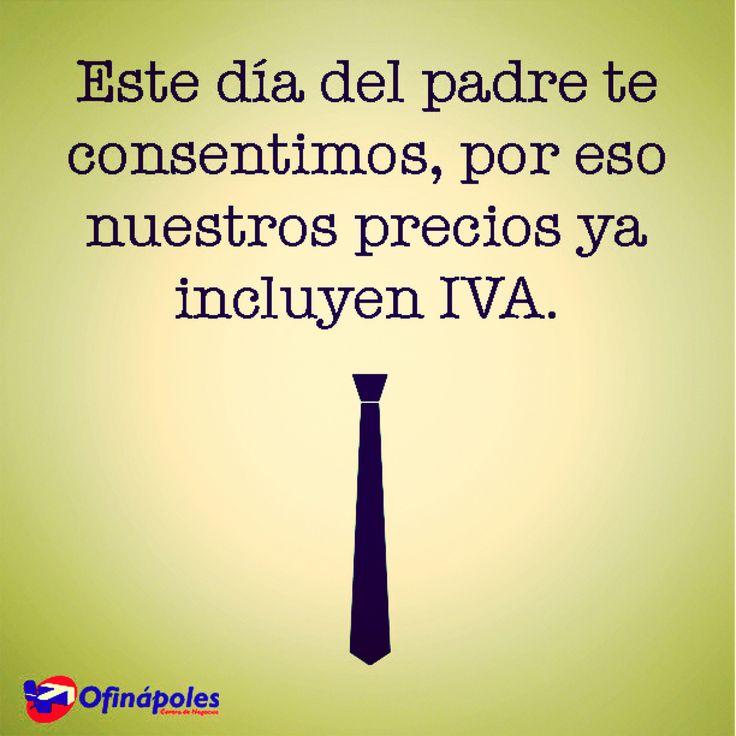 Feliz día del papá te desea Ofinapoles #pymes #work #office  #job #emprendedores #lanapolesdf #df #mexico #diadelpadre