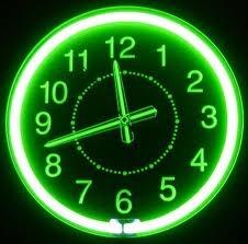 Neon Clock ~Repinned Via Bonnie Cavanaugh