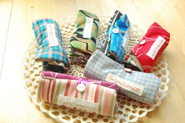 sacos de tecido