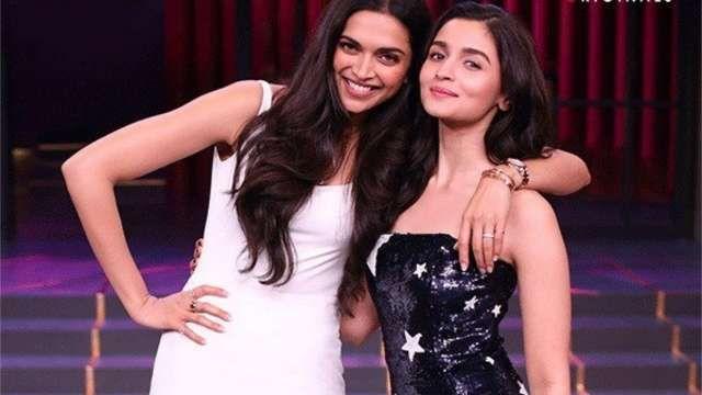 Koffee With Karan Season 6 Deepika Padukone And Alia Bhatt Came In To Talk About Her Secrets With Karanjohar Br Deepika Padukone Koffee With Karan Alia Bhatt