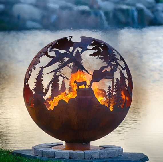 Hey, I found this really awesome Etsy listing at https://www.etsy.com/listing/281845270/high-mountain-fire-pit-37-custom-outdoor