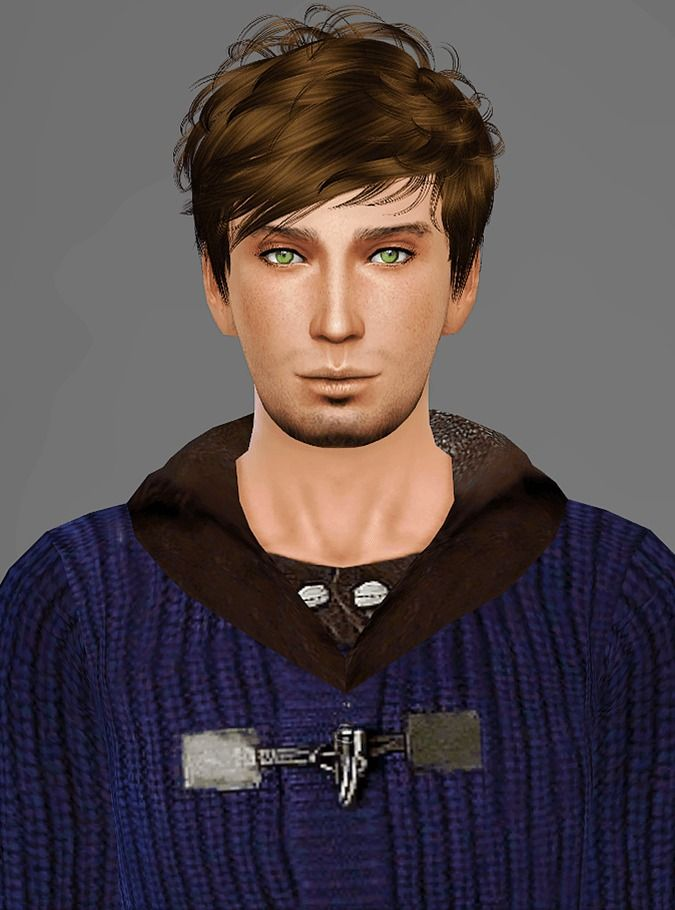 Artemis Sims's Retexture / Edit NewSea Soledad Retexture Short hairstyles for Males ~ Sims 4 Hairs