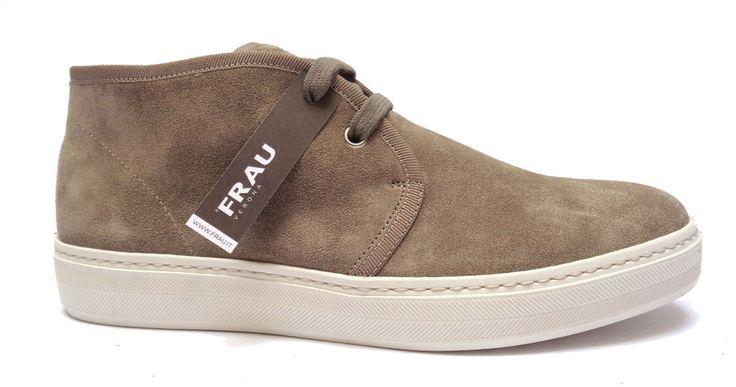 Scarpe uomo FRAU 28C5 scarpe casual da uomo in camoscio col. Sughero   eBay