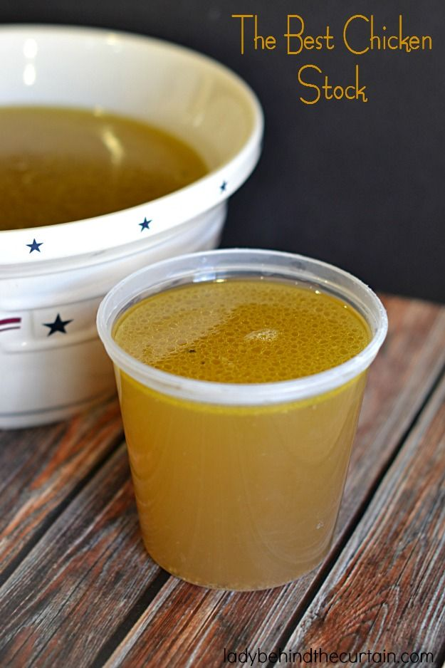 This truly is The Best Chicken Stock! Full bodied with a rich depth of flavor. This stock will enhance any recipe that calls for chicken stock.