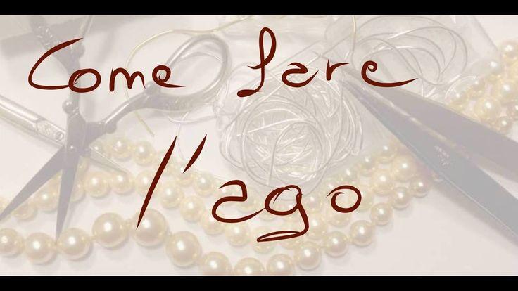 infilature perle come fare l'ago