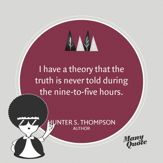 Hunter S Thompson Music Quote: 132 Best HST Images On Pinterest