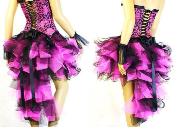 Hey, I found this really awesome Etsy listing at http://www.etsy.com/listing/130306708/black-pink-designer-burlesque-dress-up