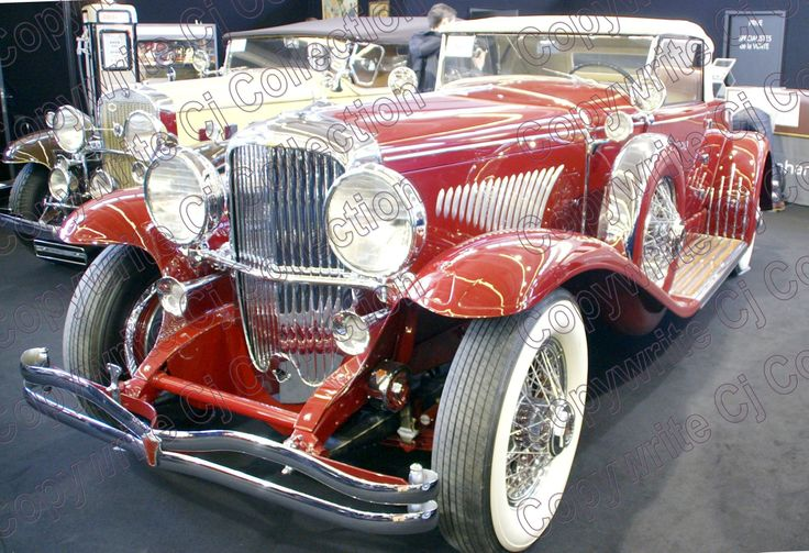 Duesenberg Print available on canvas by CJ Collections