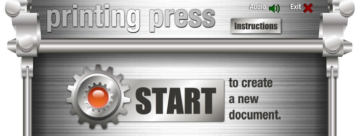 Easy interactive tool for students to create newspapers, brochures, etc. http://www.readwritethink.org/files/resources/interactives/Printing_Press/