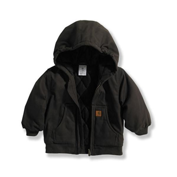 Carhartt Baby Boy's Mustang Brown Active Jacket