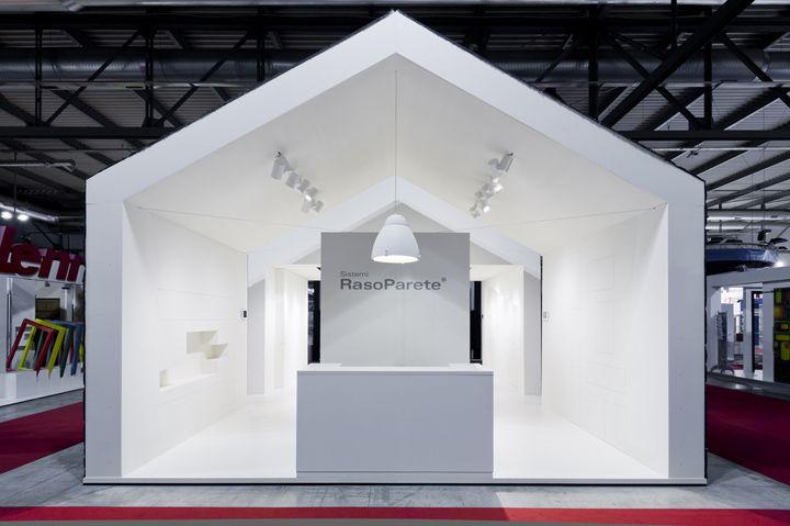 Sistemi RasoParete stand by Vannini Cesaretti, Milan