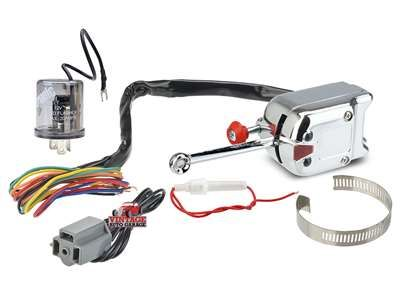 Heavy Duty Turn Signal Switch With 12V LED Flasher