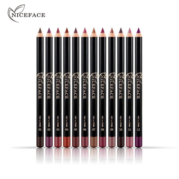 2 Pcs Long Lasting Eyeline Pen Lip Liner Tattoo Lips Pencil Makeup Beauty #Unbranded