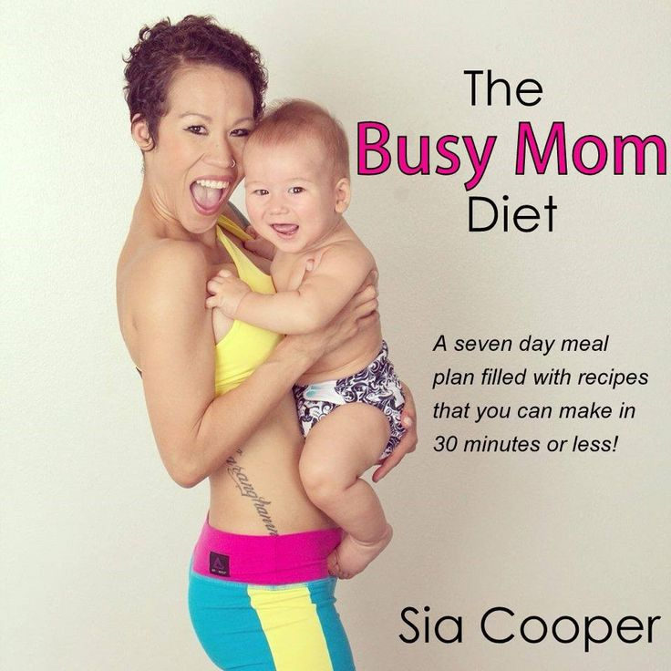 The Busy Mom Diet: Free 7 Day Diet Plan