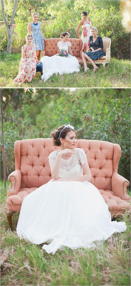 Something blue wedding inspiration that is amazing! #weddingchicks Captured By: Eliza J. Photography http://www.weddingchicks.com/2014/08/18/something-blue-wedding/