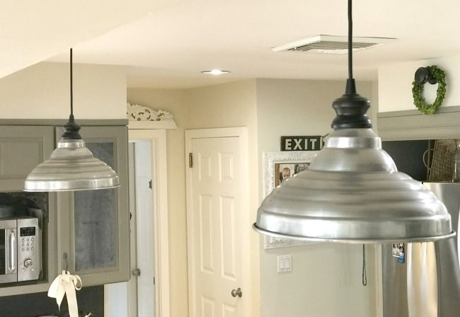 Farmhouse Style Hanging Kitchen Lamp Shades Kitchen Lamps