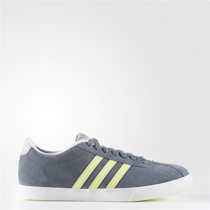 Adidas Courtset Shoes (Lead / Running White Ftw)